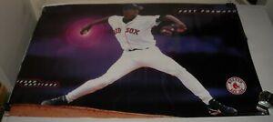 ROLLED 1998 MLB BASEBALL BOSTON RED SOC PEDRO MARTINEZ FAST FORWARD POSTER