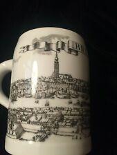 Royal Porzellan Bavaria KPM Germany Porcelain Beer Stein Mug BREMEN