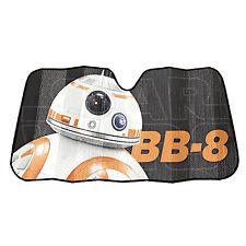 """Star Wars BB-8 Accordion Windshield Sun Shade Visor Car Truck SUV  58"""" x 27"""""""