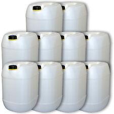 10er Pack Getränkebehälter Wasserkanister natur 30 Liter Material Plastik robust