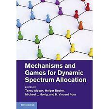 mechanismen spielen für dynamic spectrum alloc. gebundene ausgabe 9781107034129 zustand = ln: nsd