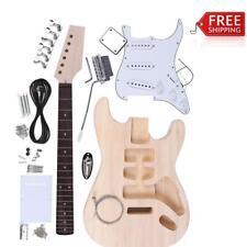 Basswood Body Maple Neck Rosewood Fingerboard Electric Guitar DIY Kit TX0L