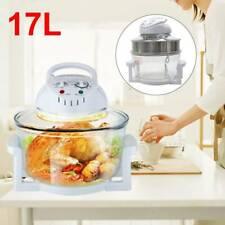17Litre High Quality Halogen Cooker Convection Oven Extender Ring Air Frye