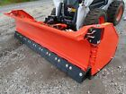 NEW HLA 3230W SERIES 10' SNOW WING PLOW FOR SKID STEERS, FLEX EDGE,120-180' WIDE