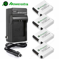 NB-11L NB-11LH Battery + Charger for Canon A2300 A2500 ELPH SX400 SX410 SX420 IS