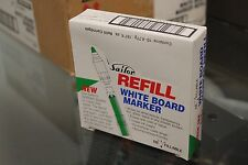 Box of 12 packs w/ 10 units Sailor Visible Green Ink White Board Marker Refill