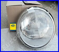 Porsche 911 930 Bosch H4 European Headlight Assembly w/ Chrome Trim Ring