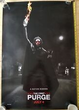 Authentic THE FIRST PURGE MOVIE POSTER 2 Sided ORIGINAL Advance 27x40