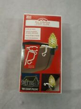 NEW Holiday Time All-Purpose Light Clips 100ct