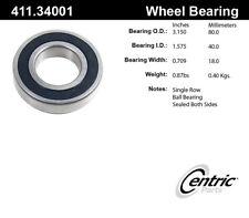 Axle Shaft Bearing-C-TEK Standard Bearings Rear Outer Centric 411.34001E