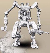 █ 1/35 Resin Robo Warrior Female Killer unpainted unassembled BL255