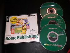 Microsoft Home Publishing 2000 Software For Pc Windows
