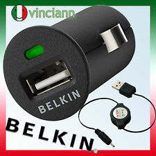 Micro caricabatterie auto per NOKIA N95 N96 5530 5800