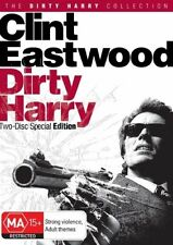 Dirty Harry Clint Eastwood (DVD, 2-Disc Set) R4 BRAND NEW SEALED - FREE POST!