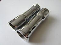TRIUMPH 3TA 5TA T100 500cc PUSH ROD TUBE CHROME 1957-63 SPEED TWIN TIGER