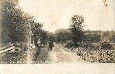 The View Near Mr. Pendleton's Residence, Tioga Center Ny Rppc 1907