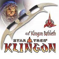 "Star Trek Klingon Batleth 48"" Battle Axe"