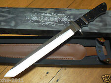 KS5 Large Tanto Hunting Survival Military Knife Machete Pig Sticker Camping Tool
