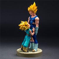 DragonBall Z Super Saiyan Vegeta Trunks Anime Dad And Son Figur Figuren Geschenk