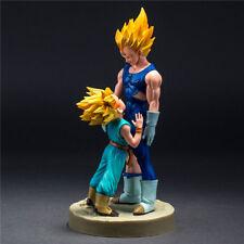 Dragon Ball Z Super Saiyan Majin Vegeta Trunks Anime Dad And Son Figur Figuren