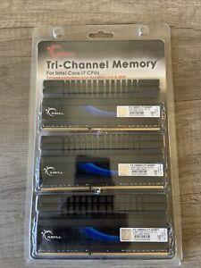 G. SKILL TRI-CHANNEL MEMORY INTEL CORE 17 CPUs F3-12800CL8T-6GBGBHK PC3-12800