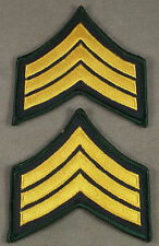 Law Enforcement - Police - Security Guard Sergeant Sleeve Rank Insignia Pair