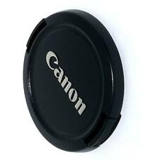 Canon  E-52mm  Clip on Front  Lens cap   USED  52mm , made in Taiwan