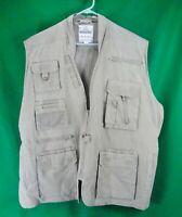 Khaki Convertible Safari Outback Trailblazer Jacket and Vest
