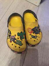 Crocs Kids Size 12 13 Transformers Good Condition