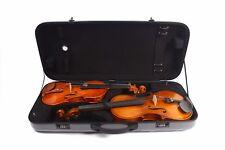 Double Violin+Viola Case 4/4-17inch Carbon Fiber Composite Violin Case