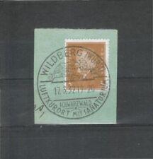 Briefmarken aus dem deutschen Reich (1924-1932) als Einzelmarke mit Briefstück-Erhaltungszustand
