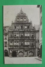AK Heidelberg 1905-10 Gasthaus Hotel z Ritter Hausansicht Architektur Gebäude W9