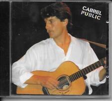 CD ALBUM LIVE 20 TITRES--FRANCIS CABREL--CABREL PUBLIC 1984