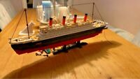 Titanic Ship Model Building Blocks Set Building Blocks Boat Educational Bricks