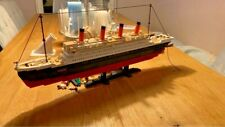 Titanic Ship Model Building Blocks Set Building Blocks Boat Educational Bricks