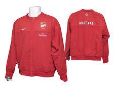 Nuevo Nike Club De Fútbol Arsenal alinear Presentación Tránsito Chaqueta Rojo M