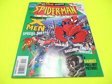 SPIDER-MAN MAGAZINE # 10 CON CARDS GADGET UOMO RAGNO X-MEN NO CORNO 1995 MARVEL