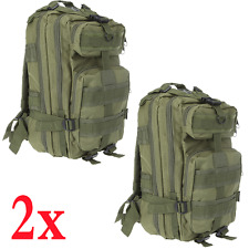 2x Military Tactical Backpack Molle Rucksacks Camping Hiking Trekking Bag S9O8
