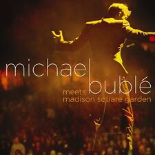MICHAEL BUBLE MEETS MADISON SQUARE GARGEN CD & DVD NEW
