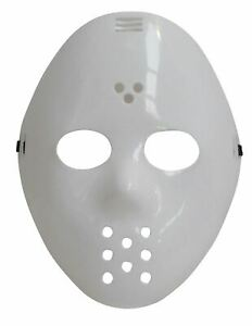 ADULT HOCKEY SCARY FREDDY FACE MASK HORROR HALLOWEEN FANCY DRESS PARTY FACE MASK