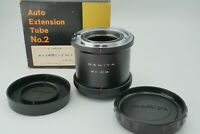 【N.MINT】 Mamiya Auto Extention Tube Ring No.2 82mm for RB67 from Japan #478-2