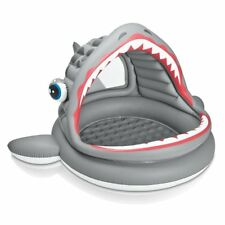 Intex Shark Baby & Kids Shade Pool /  Ball Pit - Approx 6ft across!