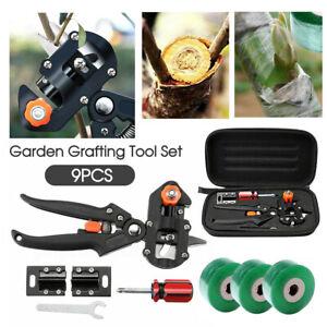 Garden Grafting Tool Set Kit Fruit Tree Pro Pruning Shears Scissor Cutting Tools