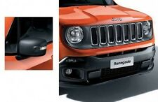 Jeep Renegade 2015 on Front Grille+ Mirror Caps Satin Grey New Genuine 71807413