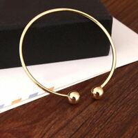 New Fashion Women's Jewelry Gift Bracelets Open Cuff Bangle Lady Charm Bracelet