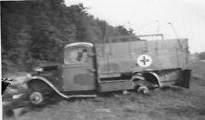Franz. Sanitäts - LKW Fahrt nach Paris Frankreich
