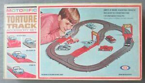 Estate Sale ~ Motorific Torture Track Accessory Set 4218-4 by IDEAL ~ 1965