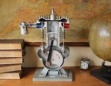 Vintage Four Stroke Combustion Engine Cutaway Educational Model. Fysica Arnhem