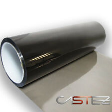 2 X VINILO PEGATINA LAMINA 15 X 15 cm TINTAR FAROS NEGRO AHUMADO  ANTINIEBLAS