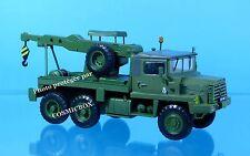 camion BERLIET GBC 8 KT vehículo reparacion grúa remolque militar 1:43 en metal